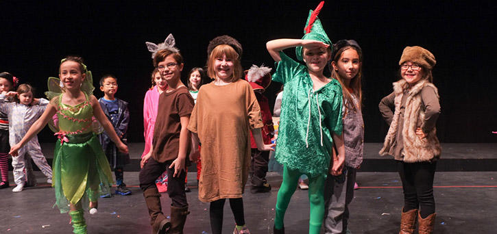 Theater camp programs for ages 5-17